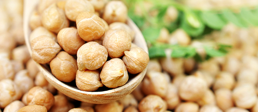 Healthy. Delicious. Chickpea. flavour image