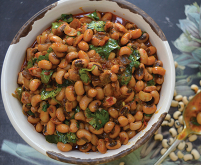 Black-eyed Peas with Tamarind and Coconut recipes-img