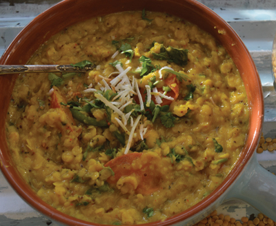 Toor Daal with Coconut recipes-img