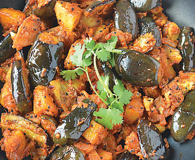 Aachari wale aloo baingan recipes-img