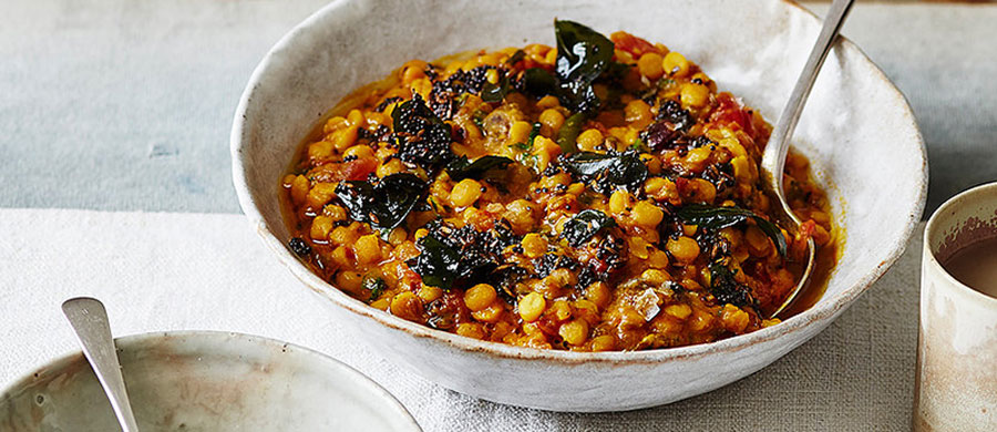 Chana Daal with Tamarind and Tomatoes recipes-image
